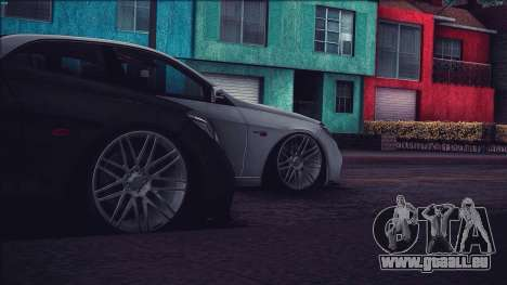 Brabus 900 für GTA San Andreas Rückansicht