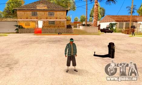 Varios Los Aztecas pour GTA San Andreas cinquième écran
