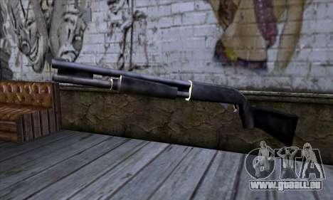 Chromegun v2 Habitude pour GTA San Andreas