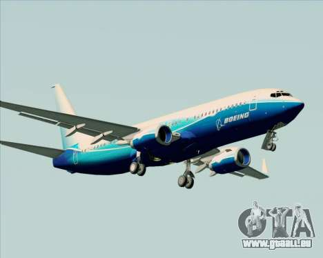 Boeing 737-800 House Colors für GTA San Andreas obere Ansicht