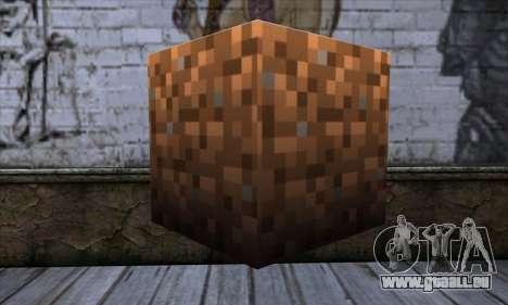Block (Minecraft) v9 für GTA San Andreas zweiten Screenshot