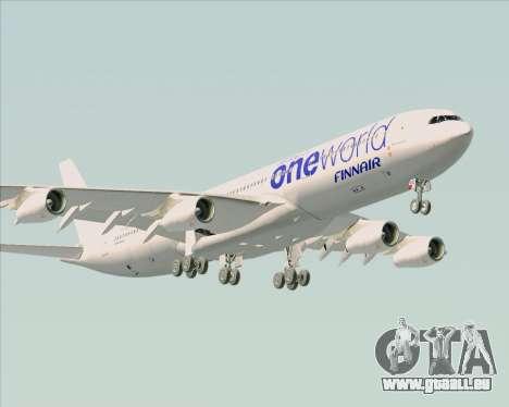 Airbus A340-300 Finnair (Oneworld Livery) für GTA San Andreas