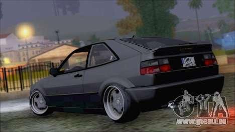 Volkswagen Corrado pour GTA San Andreas laissé vue