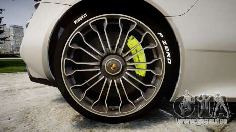 Porsche 918 Spyder 2014 pour GTA 4 Vue arrière