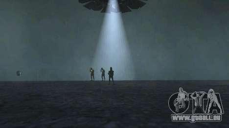 UFO über San Andreas für GTA San Andreas fünften Screenshot