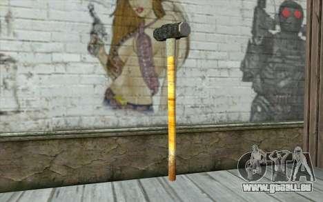 Sledge Hammer pour GTA San Andreas deuxième écran