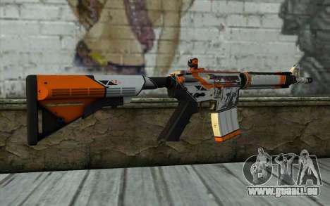 M4A4 from CS:GO pour GTA San Andreas deuxième écran