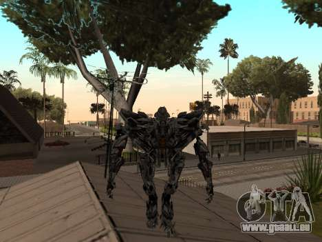 Transformers 3 Dark of the Moon Skin Pack für GTA San Andreas siebten Screenshot