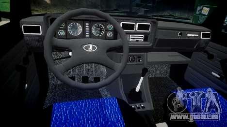 VAZ-2107 meilleur modèle pour GTA 4 est une vue de l'intérieur