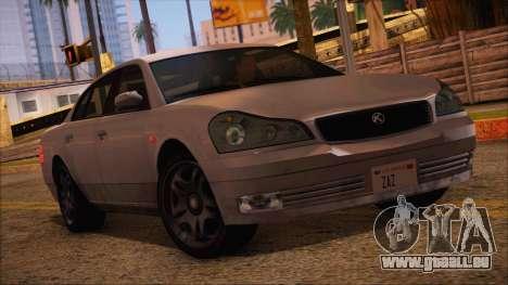 GTA 5 Intruder pour GTA San Andreas