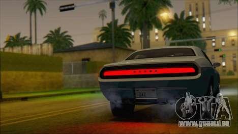 Dodge Challenger Concept für GTA San Andreas linke Ansicht