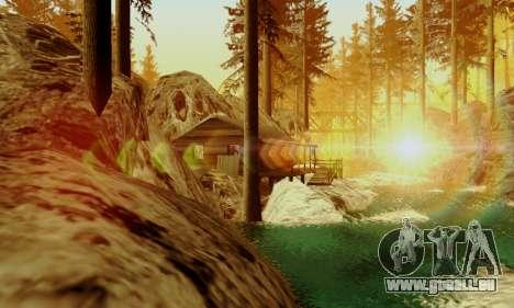 Piste off-road 4.0 pour GTA San Andreas troisième écran