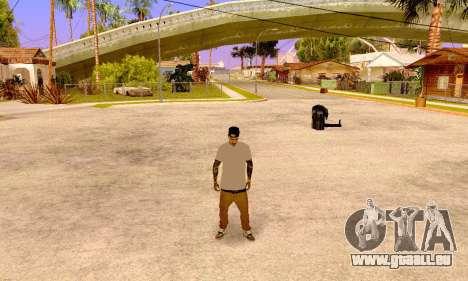 Varios Los Aztecas pour GTA San Andreas troisième écran