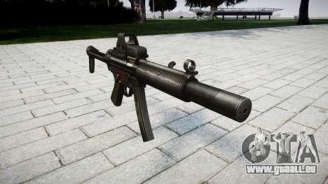 Pistolet MP5SD EOTHS FS pour GTA 4