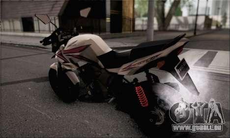 Honda Verza 150 pour GTA San Andreas laissé vue