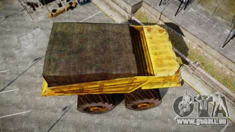 Mining Truck für GTA 4 rechte Ansicht
