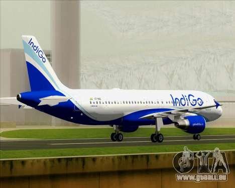 Airbus A320-200 IndiGo für GTA San Andreas