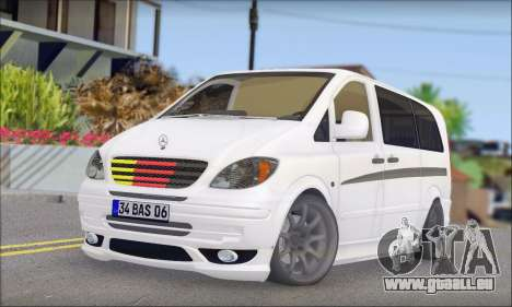 Mercedes-Benz Vito Vip pour GTA San Andreas