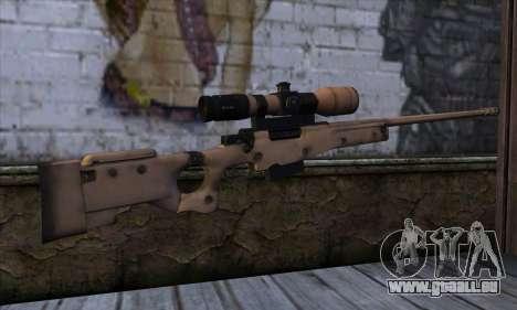 L11A3 Sniper Rifle für GTA San Andreas zweiten Screenshot