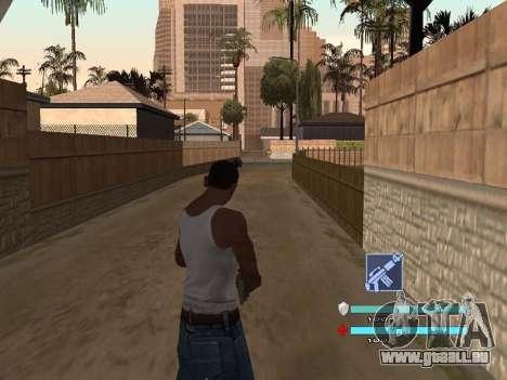 C-HUD OREAN pour GTA San Andreas