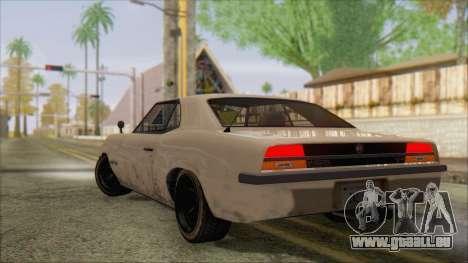 GTA 5 Vigero pour GTA San Andreas laissé vue