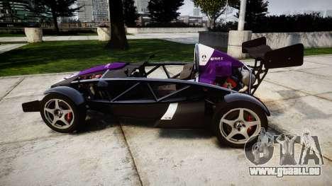 Ariel Atom V8 2010 [RIV] v1.1 FOUR C Motorsport für GTA 4 linke Ansicht