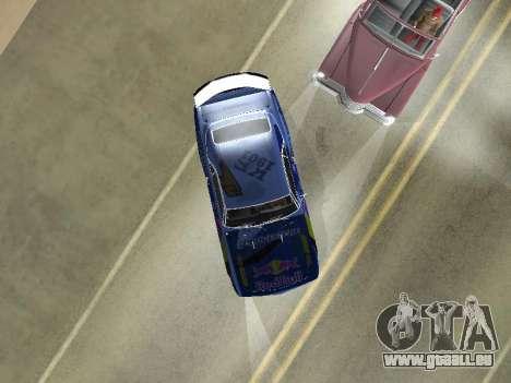 Chevrolet Camaro SS RedBull für GTA San Andreas Rückansicht