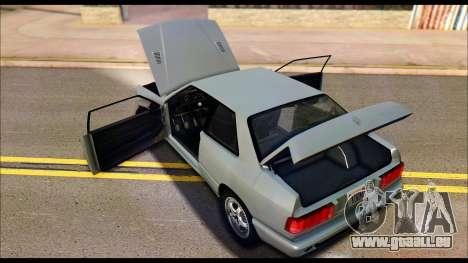 Maserati Ghibli II Cup (AM336) 1995 pour GTA San Andreas vue arrière