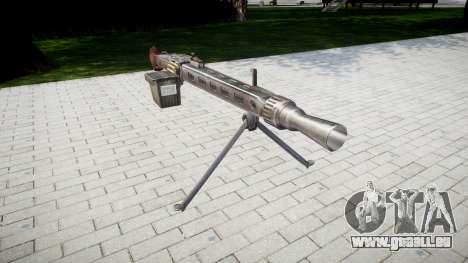 Deutsche Maschinengewehr MG3 icon3 für GTA 4