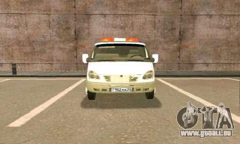 Gazelle Schlepptau 33023 Beta v1.2 für GTA San Andreas Unteransicht
