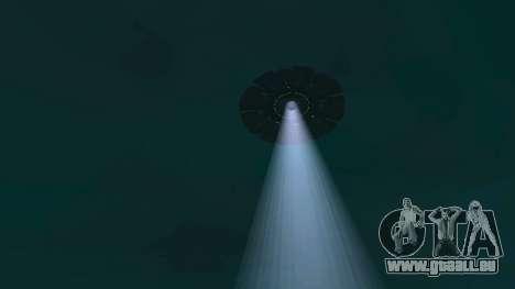 OVNI au-dessus de San Andreas pour GTA San Andreas dixième écran