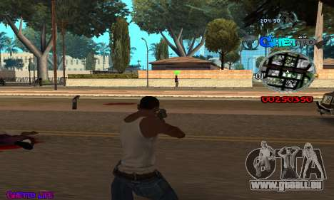 C-HUD Ghetto Life für GTA San Andreas dritten Screenshot