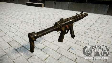 Pistolet MP5SD NA FS pour GTA 4 secondes d'écran