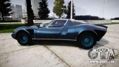 Alfa Romeo 33 Stradale für GTA 4 linke Ansicht