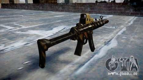 Gun MP5SD EOTHS FS c-Ziel für GTA 4 Sekunden Bildschirm