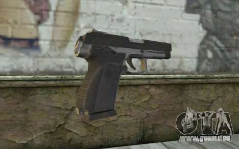 MP443 from COD: Ghosts für GTA San Andreas zweiten Screenshot