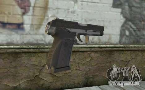 MP443 from COD: Ghosts pour GTA San Andreas deuxième écran