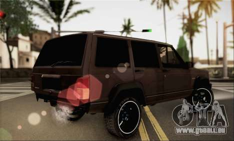 Jeep Cherokee für GTA San Andreas linke Ansicht