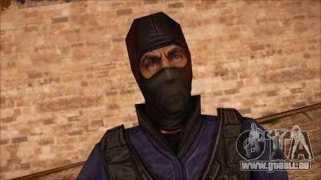 GIGN from Counter Strike Condition Zero für GTA San Andreas dritten Screenshot