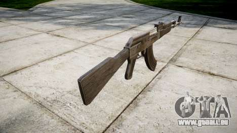 Die AK-47 Grau für GTA 4 Sekunden Bildschirm