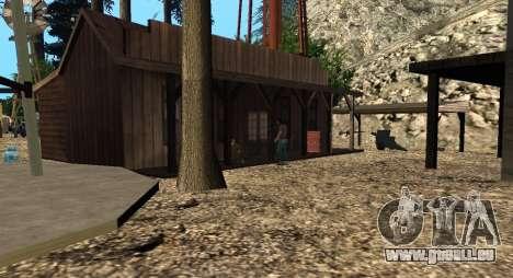 L'Altruiste camp sur le mont Chiliade pour GTA San Andreas cinquième écran