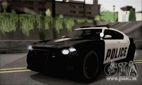 Bravado Buffalo S Police Edition (HQLM) für GTA San Andreas