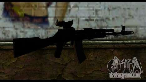 AK-101 ACOG pour GTA San Andreas deuxième écran