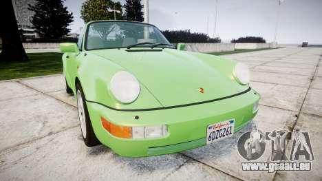 Porsche 911 (964) Cabrio für GTA 4