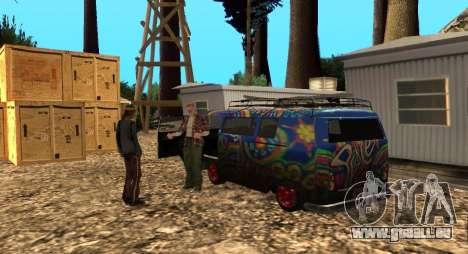 L'Altruiste camp sur le mont Chiliade pour GTA San Andreas troisième écran