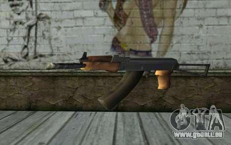 AK47 von Hitman 2 für GTA San Andreas zweiten Screenshot