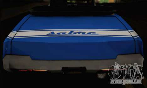 Sabre Convertible v1.0 für GTA San Andreas zurück linke Ansicht