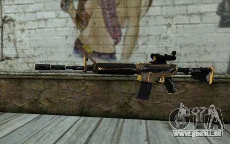 M4A1 from PointBlank pour GTA San Andreas