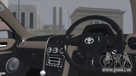 Toyota Höhe (RS200) 2004 (АПП) für GTA San Andreas zurück linke Ansicht