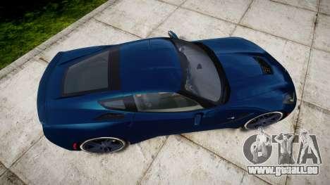 Chevrolet Corvette C7 Stingray 2014 v2.0 TirePi1 pour GTA 4 est un droit
